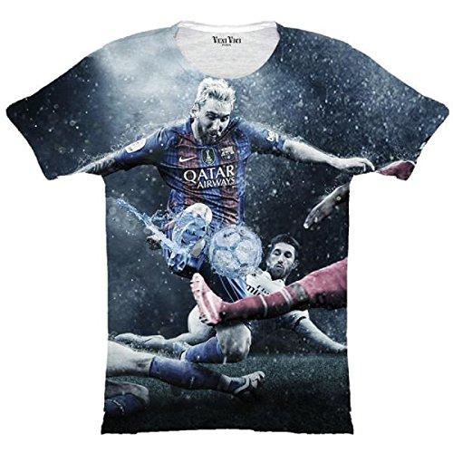 Veni Vici T-Shirt Lionel Messi - Bunt Bunt