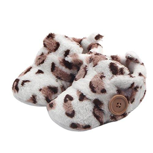 Babyschuhe Heligen Schöne Kleinkind erste Wanderer Babyschuhe runde Kappe Wohnungen weiche Hausschuhe Schuhe(3~12 ()