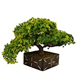 #10: Thefancymart Artificial Bonsai Tree plant with Wood Pot (10 inchs/ 25 cms) ( Code-636 )