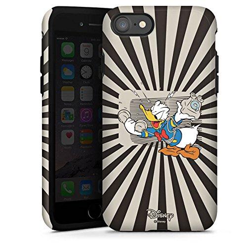 Apple iPhone X Silikon Hülle Case Schutzhülle Disney Donald Duck Fanartikel Geschenke Tough Case glänzend