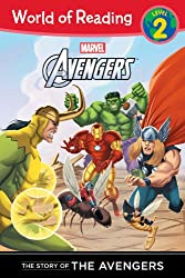 The Mighty Avengers the Story of the Avengers (World of Reading: Level 2)