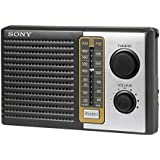 Sony All In One Compact Design Pocket Size Portable AM/FM Radio With Built-in Speaker
