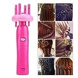 Yiwa Flechtmaschine für Kopfhaar, für Damen, automatisches Flechtgerät, elektrisch, Hilfsmittel für Haarstyling
