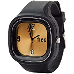 Flexwatches Black & Gold