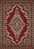 Lalee 347051717 Klassischer Teppich / Orientalisch / Rot / TOP Preis / Grösse : 70 x 140 cm