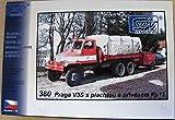 SDV Modellbau Kunststoff Modellbausatz Praga Feuerwehr V3S s Pp12 LKW Plane und Anhänger 1:87 H0