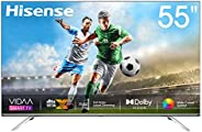Hisense 55inch 55U7WF 4K ULED Ultra HD Smart TV VIDAA 4.0 Wide Color Gamut Dolby Vision DTS Virtual X Blutooth