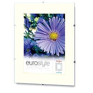 10x Rahmenloser Bilderrahmen Bildhalter Cliprahmen 29,7x42cm (DIN A3) Acrylglas