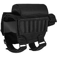 Portátil ajustable Táctico Culata Butt Stock Rifle Cheek Resto Bolsa Bolsa Bullet Holder Avanzada paquete multifunción Tuosai Bolsa