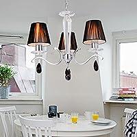 cristallo di luce in stile europeo raffinato ed elegante, lampadario