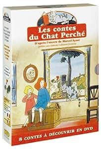 Coffret Les Contes du Chat Perché 2 DVD : Les Contes rouges / Les Contes bleus