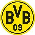 Wandtattoo - Borussia Dortmund Logo - 20x20 cm