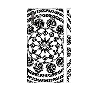 Colorpur Neuron Magic Printed Back Case Cover for Sony Xperia XZ/XZs