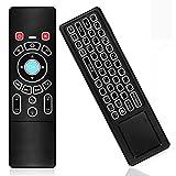 KingLeChange T6 Pro Telecomando Air Mouse Tastiera Retroilluminato Ricaricabile per Android TV Box, Smart TV, Telecomando Kodi