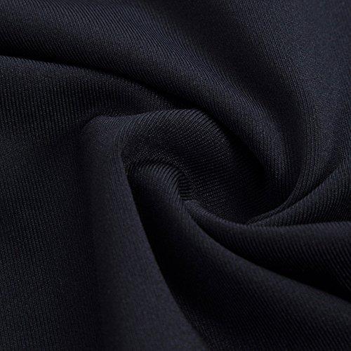 Sunny&Baby Pantaloni a vita alta da donna a metà polpaccio Tessuto di seta Leggings sportivi Allenamento atletico Stretchy Yoga Skinny per donna Confortevole ( Color : Black , Size : L ) Black