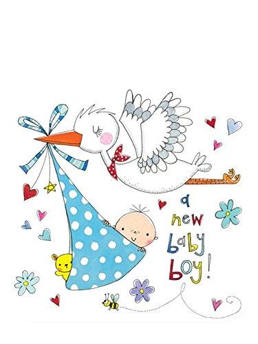 Ben noto Rachel Ellen - Biglietto di auguri per nascita bimbo [lingua inglese] NG28
