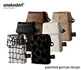 Smokeshirt CLUB Zigarettenetui regular in div. Designs Zigarettenbox für Zigarettenschachtel Zigaretten-hülle für Zigarettenschachtel in Standardgröße, Modisch, elegante Zigarettenbox