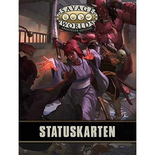 Savage Worlds Statuskartendeck