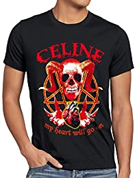 style3 CELINE Heavy Metal T-Shirt Homme my heart
