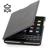 StilGut Book Type Case, Hülle aus Leder für BlackBerry Passport, schwarz