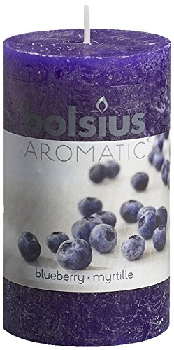 Aromatic-Blueberry-Pillar-Candle-Paraffin-Wax-Blue
