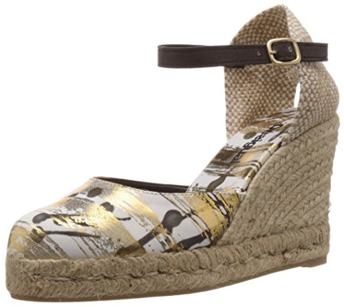 Desigual SHOES HELADO, Espadrillas donna, Oro (Gold (8010)), 36