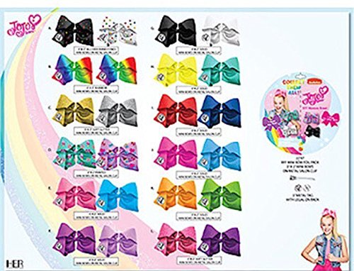 (JoJo Siwa Blind Taschen - Bestie Mistery Bogentasche - Jojo Bögen Taschen - Sammeln Sie Alle Stile - Perfekte Strumpf Füller Weihnachtsgeschenk für Mädchen (1er Pack))