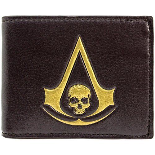 Ubisoft Assassins Creed Black Flag Mehrfarbig Portemonnaie (Black Flag Kostüm Creed Cosplay Assassins)