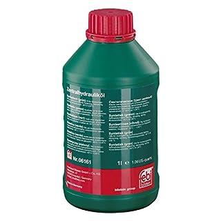 febi bilstein 06161 Hydrauliköl (synthetisch) für die Zentralhydraulik, Servolenkung und Niveauregulierung (grün) 1 Liter