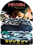 Renegade Active 12-in-1 Headwear- Comes in Various Colours & Designs -Set of 3 Versatile Sports Headbands - Best Guarantee-Use As a Neck Gaiter, Snood, Bandana, Scarf, Running & Ski Mask & More - Amazing Gift