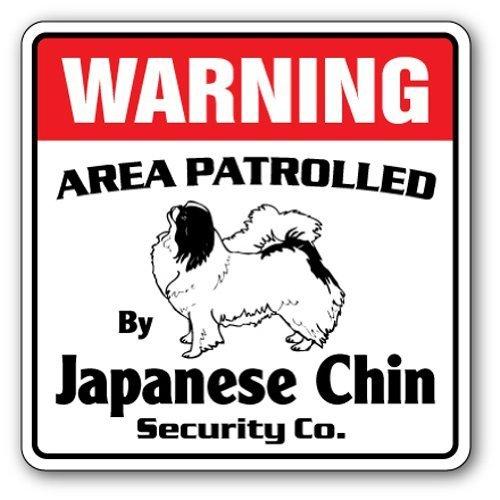 """Home Decor Japanische Kinn Sicherheit Schild Bereich \'Pet Wasserspeier Lover \""""Nadia Hund Inhaber Metall Zeichen für Outdoor Yard Sicherheit Schild Aluminium Schilder"""