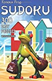 Famous Frog Sudoku 300 Easy Puzzles With Solutions: A Travel Sudoku Series Book: Volume 5