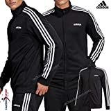 adidas Herren Essentials 3-Streifen Trainingsjacke, Black/White S