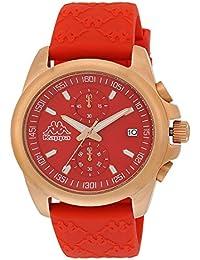 Kappa Ladies KP-1404L-E Reloj de Pulsera para mujeres Pulsera de silicona