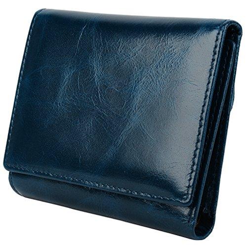 yaluxe-donna-compatto-piccolo-tri-fold-pelle-borsa-con-cerniera-moneta-fach-confezioni-regalo-blu
