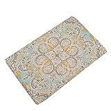 Tangbasi Boho Mandala Bad-Teppiche rutschfeste Küche Badezimmer Teppich Tür Bodenmatten, Polyester, 2#, Einheitsgröße