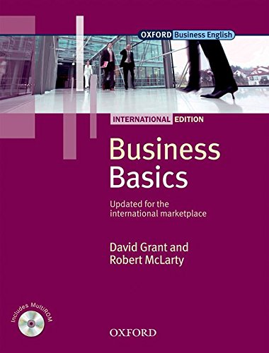 Business Basics: International Edition: Student's Pack: Student Book Pack - 9780194577809