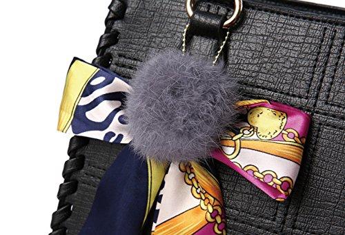 Borsetta Per Donna T-shirt ZPFME Autunno E Inverno Tessitura Retro Banchetto Borsa A Tracolla Shopper Pelle Party Black