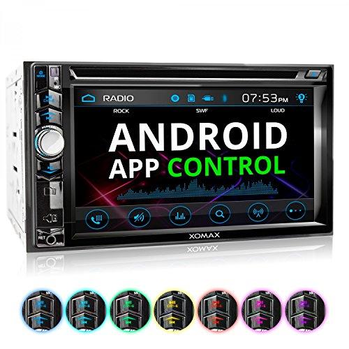 XOMAX XM-2D6224 RDS Autoradio mit 15,7cm / 6,2