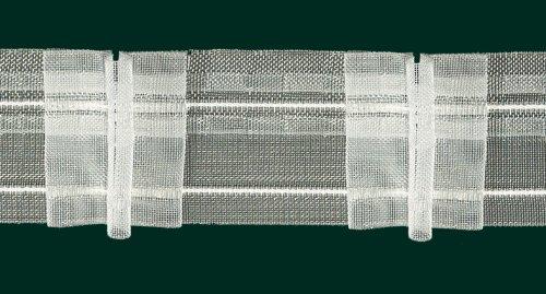 Ruther & Einenkel Faltenband mit 3 Falten, 50 mm, volltransparent, 200% / Aufmachung 10 m -