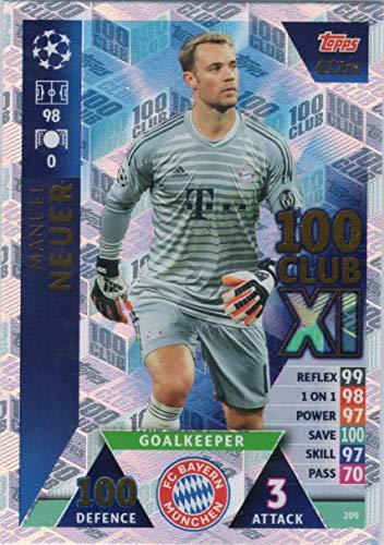 Champions League 18/19 100 Club XI Karte 433 Sergio Ramos