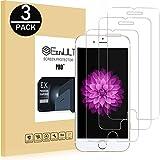 EasyULT Verre Trempé iPhone 6S[3-Pièces], iPhone 6/iPhone 6S Film Protection Écran Protecteur d'écran Vitre Tempered Glass Screen Protector