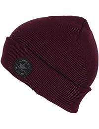 Converse CTAS Mütze Slim Fit Watchcap Red Block (bordeaux)