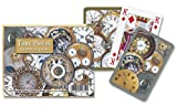 Gibsons Games Piatnik Time Pieces playing cards (twin deck)