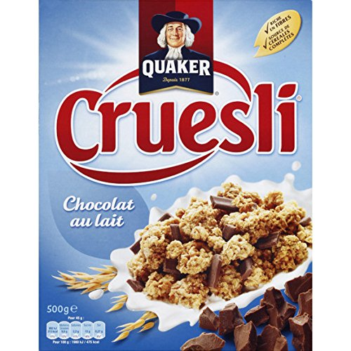 quaker Pépites de céréales croustillantes avec du chocolat au lait - ( Prix Unitaire ) - Envoi Rapide Et Soignée