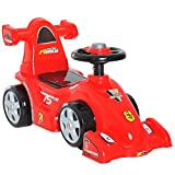 HOMCOM Toddler Kids Ride On Car Toy Boy Girl Push Along Walker Balance Toy Red