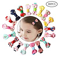 nuosen Metal Snap Clips,Hair Clips for Girls