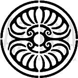 A3 'Kreis Georgisch' Wandschablone / Vorlage (WS00006770)