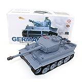 Dilwe Carro Armato RC, 2.4G 1/16 Germania Tiger I Serbatoio del Telecomando Radio Serbatoio Lotta
