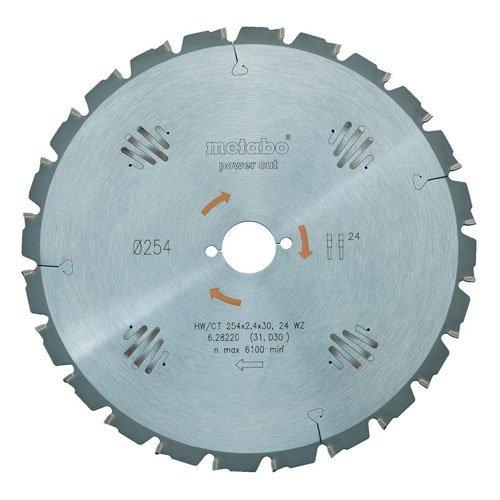 METABO POWER CUT 628224000 - DISCO DE CORTE PARA SIERRA CIRCULAR (PARA METAL  315 MM  AGUJERO 30 MM  48 DIENTES)